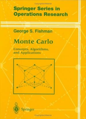 غلاف الكتاب Monte-Carlo: concepts, algorithms, and applications