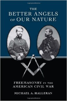 Sampul buku The Better Angels of our Nature : Freemasonry in the American Civil War