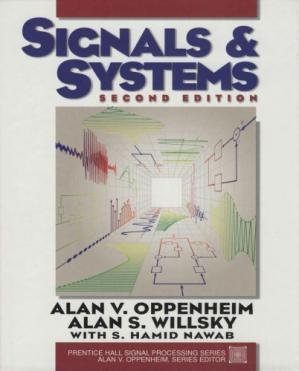 Book cover Signals and Systems