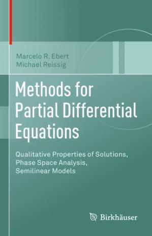 Book cover Methods for partial differential equations