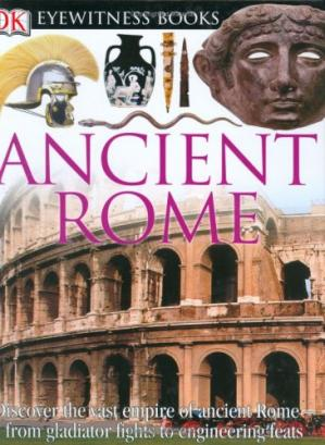 Book cover Ancient Rome (DK Eyewitness Books)