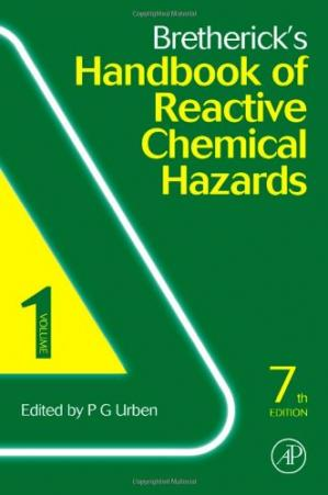বইয়ের কভার Bretherick's Handbook of Reactive Chemical Hazards, 7th Edition.Two Vol. Set.