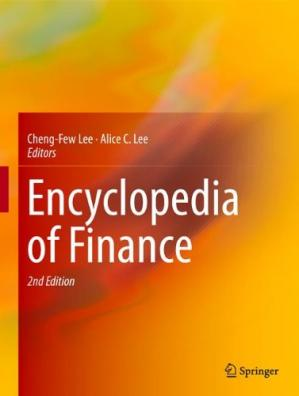 Book cover Encyclopedia of Finance
