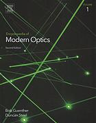 Couverture du livre Encyclopedia of modern optics. V.1-5