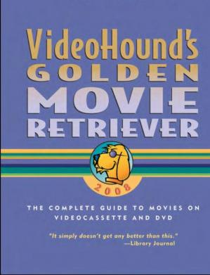 Kitabın üzlüyü VideoHound's Golden Movie Retriever (2008)