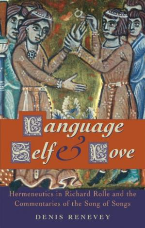 A capa do livro Language, Self and Love: Hermeneutics in Richard Rolle and the Commentaries of the Song of Songs