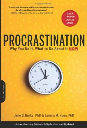 Book cover Procrastination: Why You Do It, What to Do About It Now