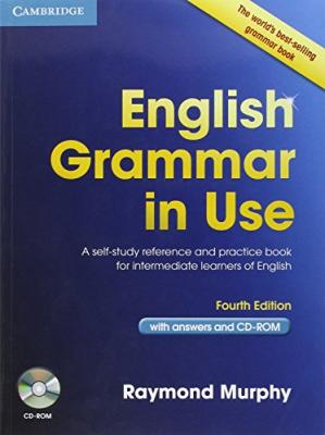 Book cover English Grammar in Use: A Self-Study Reference and Practice Book for Intermediate Learners of English
