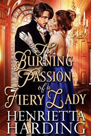 Book cover The Burning Passion of a Fiery Lady