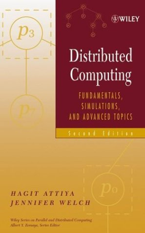 Portada del libro Distributed Computing: Fundamentals, Simulations, and Advanced Topics