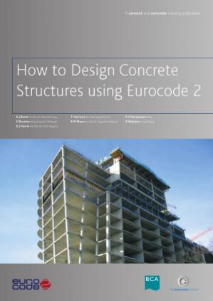 Book cover How to design concrete structures using Eurocode 2