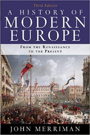Copertina A History of Modern Europe: From the Renaissance to the Present