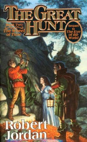 表紙 The Great Hunt (The Wheel of Time, Book 2)