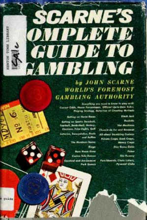 Book cover Scarne's Complete Guide to Gambling