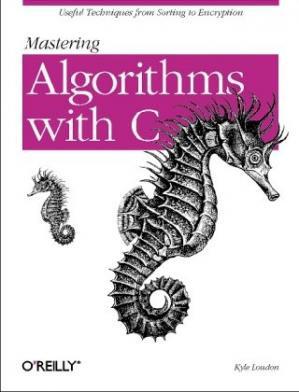 Book cover Mastering algorithms with C
