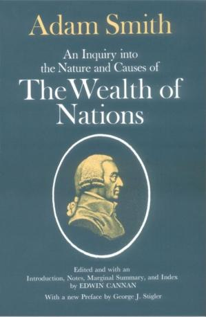 Book cover The Wealth of Nations - An Inquiry Into the Nature and Causes of the Wealth of Nations