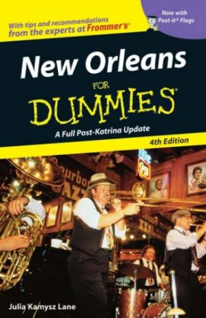 Okładka książki New Orleans For Dummies, 4th edition (Dummies Travel)