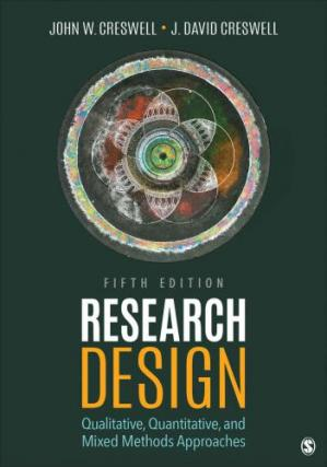 Portada del libro Research Design: Qualitative, Quantitative, and Mixed Methods Approaches