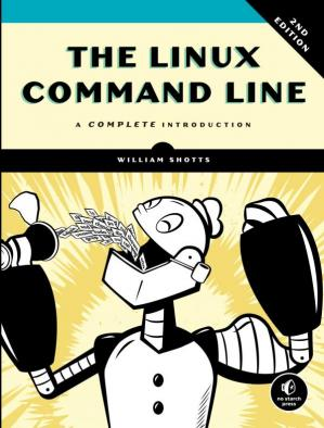 غلاف الكتاب The Linux Command Line: A Complete Introduction