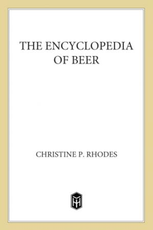 Book cover The Encyclopedia of Beer