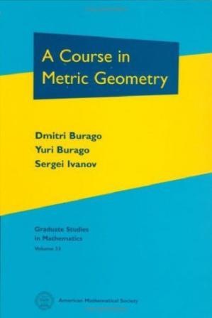 Book cover A Course in Metric Geometry