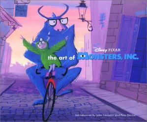 Book cover The Art of Monsters, Inc.