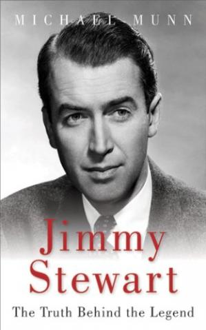Book cover Jimmy Stewart : the truth behind the legend