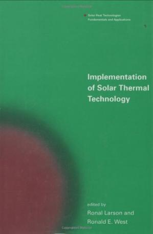 Copertina Implementation of Solar Thermal Technology