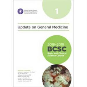 Book cover 2018-2019 BCSC (Basic and Clinical Science Course), Section 01: Update on General Medicine