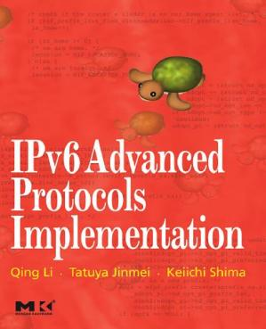 বইয়ের কভার IPv6 Advanced Protocols Implementation, 2007 Edition