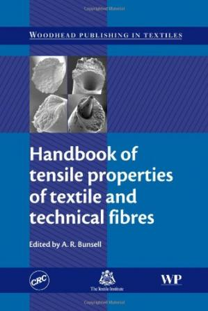 غلاف الكتاب Handbook of Tensile Properties of Textile and Technical Fibres