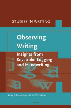 Copertina Observing Writing: Insights from Keystroke Logging and Handwriting