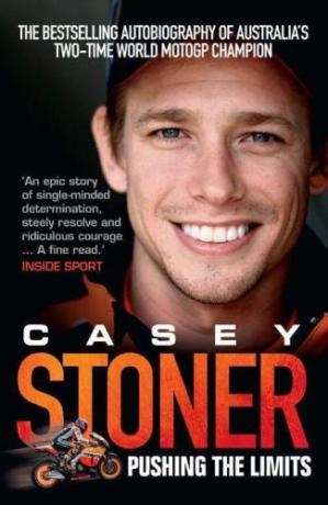 Book cover Casey Stoner : pushing the limits