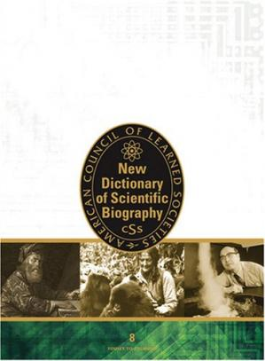 Copertina New Dictionary of Scientific Biography (Dictionary of Scientific Biography (8 Vols))
