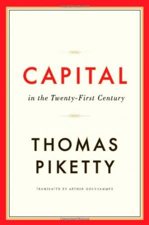 Book cover Capital in the Twenty-First Century