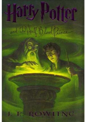 Sampul buku Harry Potter and the Half-Blood Prince