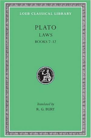 书籍封面 Plato, Laws, II: Books 7-12