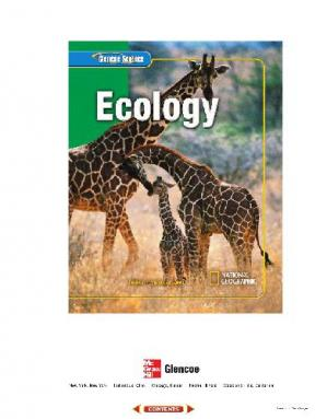 Book cover Glencoe Science: Ecology, Student Edition