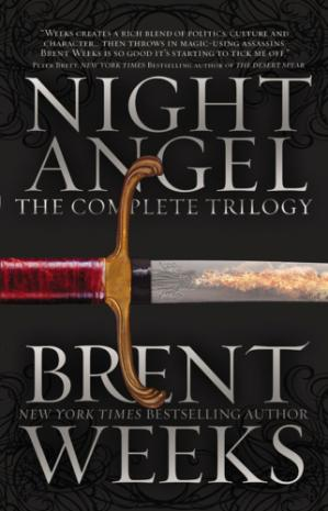 Book cover Night Angel Trilogy (The Way of Shadows; Shadow's Edge; Beyond the Shadows)