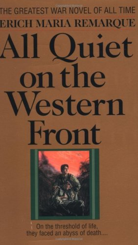 Book cover All Quiet on the Western Front