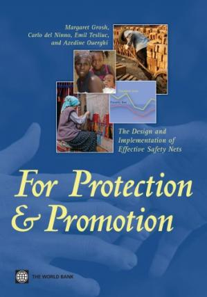 Kitap kapağı For Protection and Promotion: The Design and Implementation of Effective Safety Nets (Directions in Development)