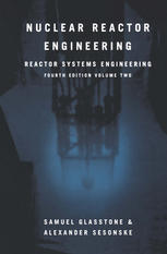 Copertina Nuclear Reactor Engineering: Reactor Systems Engineering