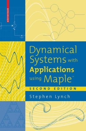 A capa do livro Dynamical systems with applications using Maple