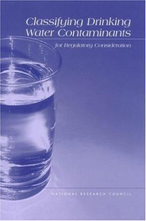Sampul buku Classifying Drinking Water Contaminants