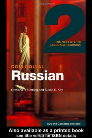 Buchdeckel Colloquial Russian 2: The Next Step in Language Learning