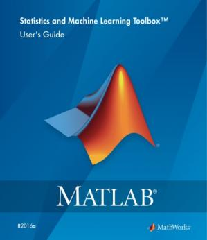 Book cover Matlab Statistics and Machine Learning Toolbox documentation
