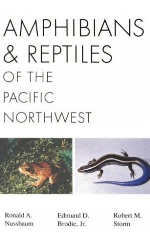 Sampul buku Amphibians and Reptiles of the Pacific Northwest (A Northwest naturalist book)