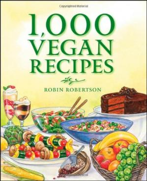 Sampul buku 1,000 Vegan Recipes