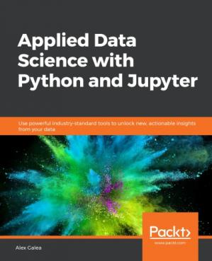 Book cover Applied Data Science with Python and Jupyter