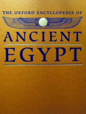 Book cover The Oxford Encyclopedia of Ancient Egypt: G-O ( vol 2 )